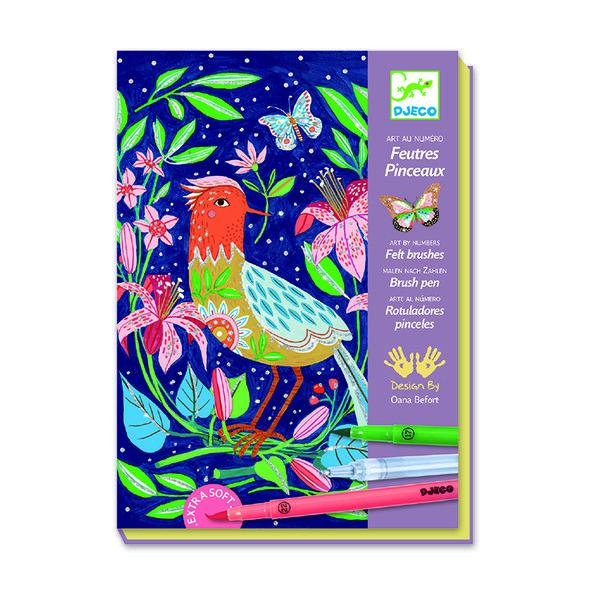 Комплект за рисуване - In the garden